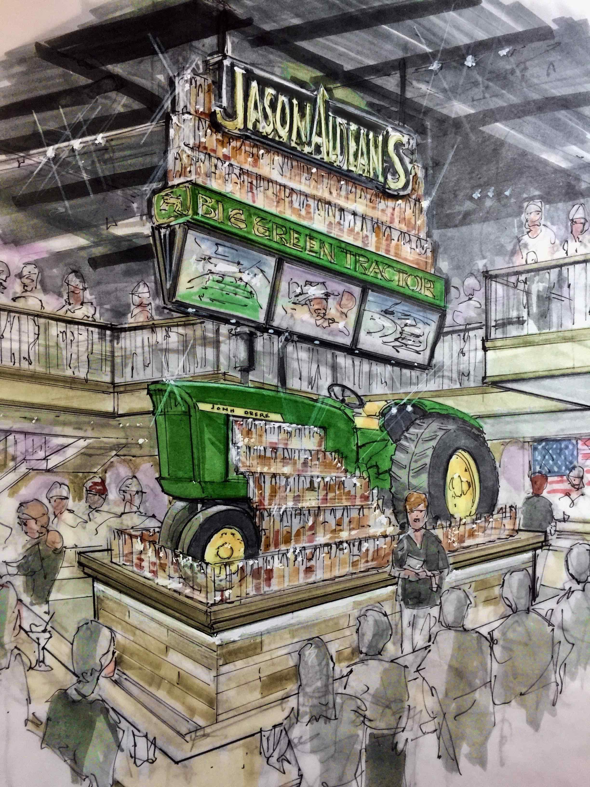 Jason Aldeans Tractor Render