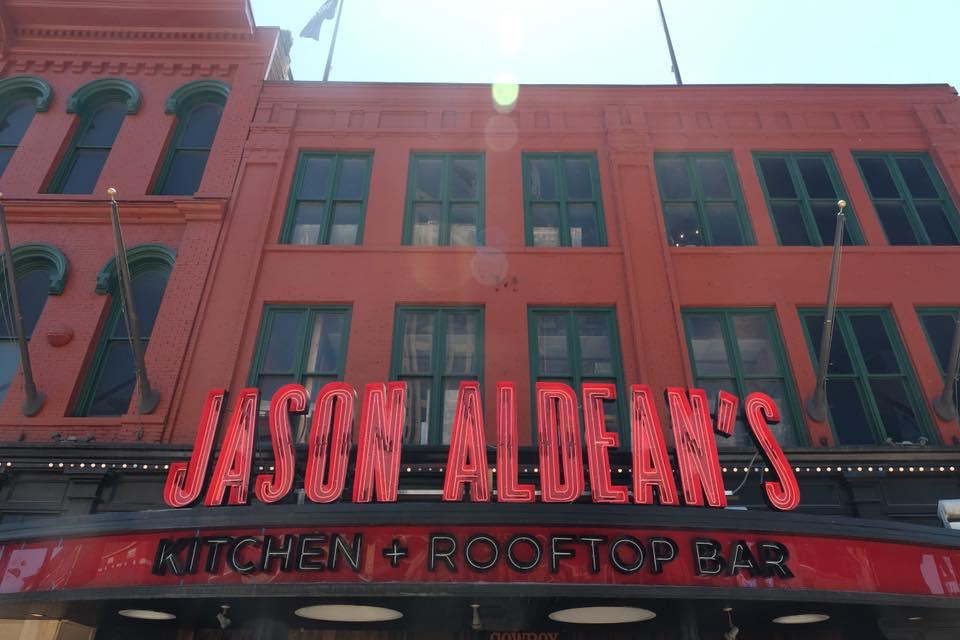 Jason Aldean's Signage