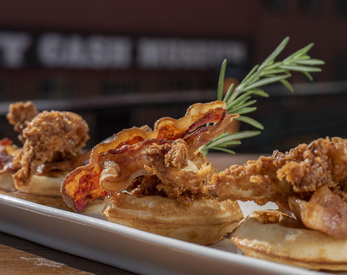 Jason Aldean's Chicken And Waffles
