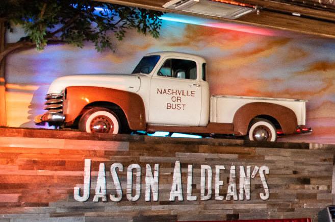 Jason Aldean's Interior