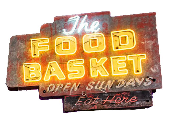 Food Basket Sign Jason Aldean's
