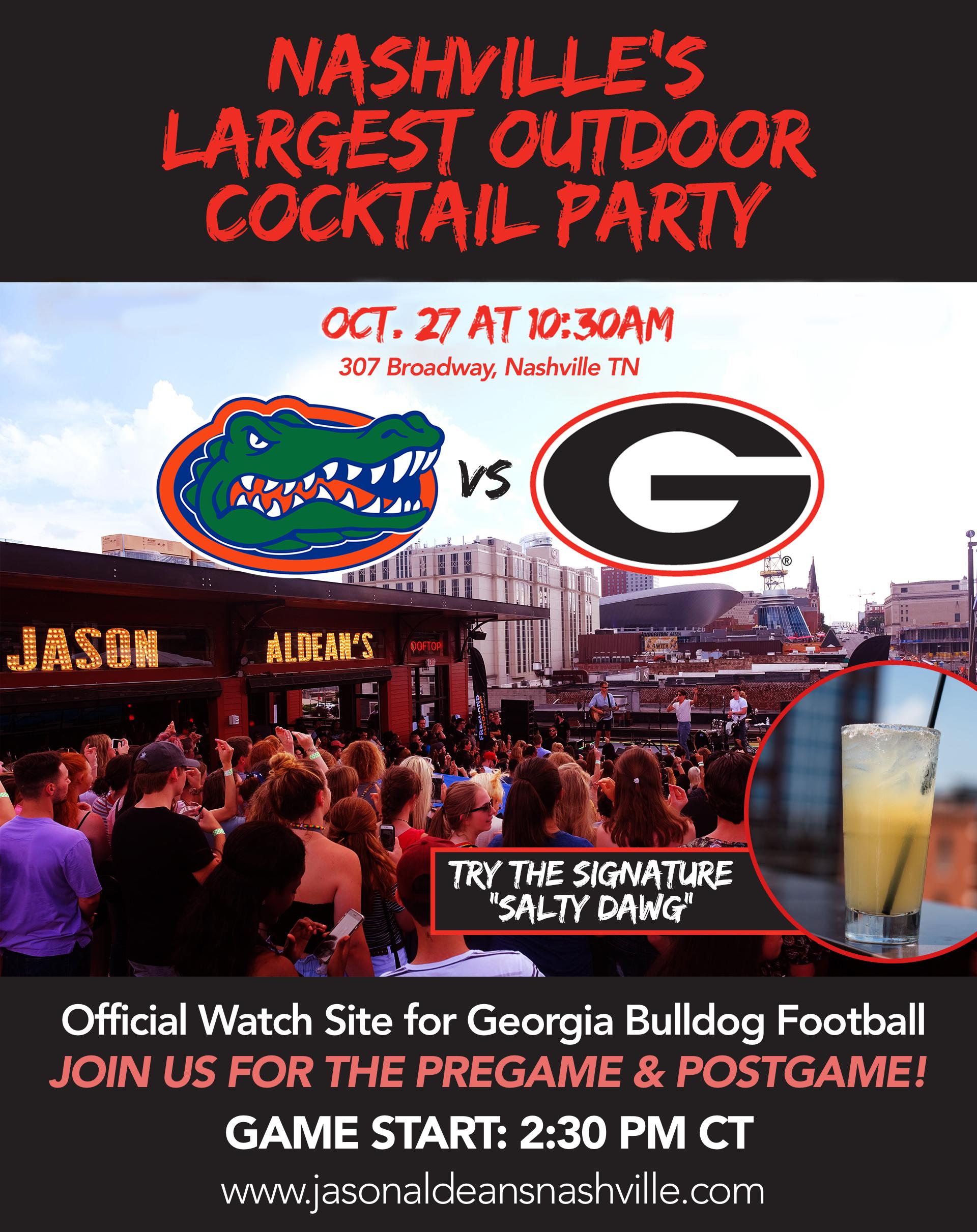 Georgia Florida Cocktail Party