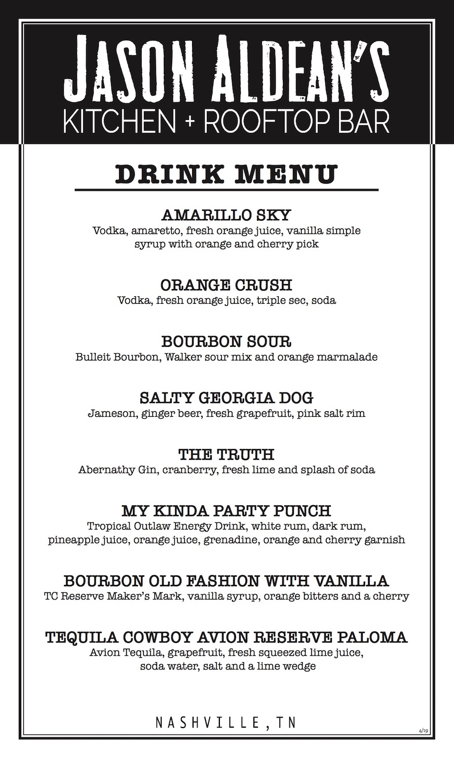 JA Drink menu side1
