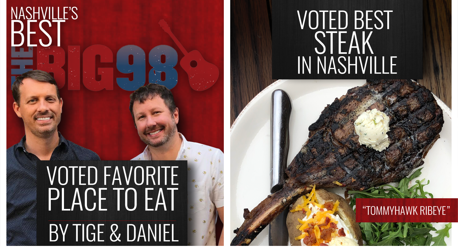Tige & Daniel Best Steak and Best Place To Eat