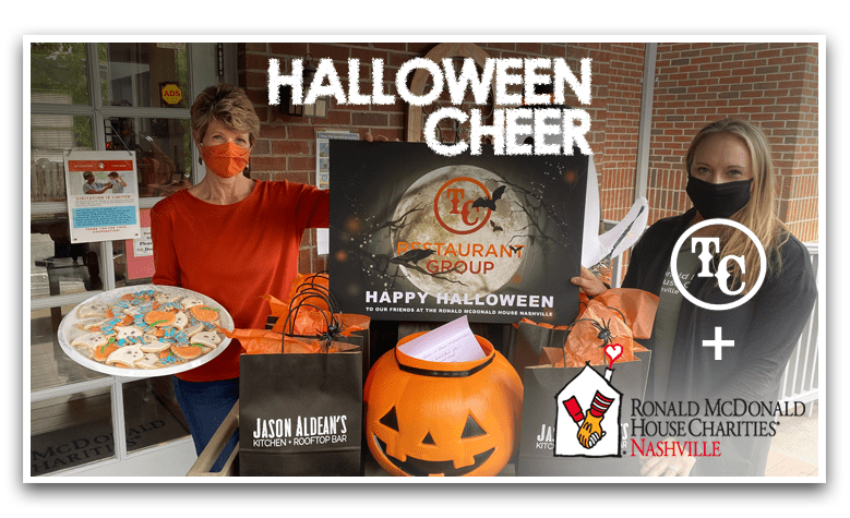 Halloween with TC Restaurant Group   & the Ronald McDonald House